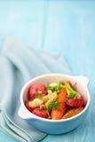 Piec warzywa sałatkowi Zdjęcia Royalty Free