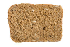 A piece of 7-grain bread Royalty Free Stock Photo