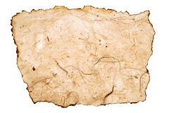 Piece of aged paper Stock Photography