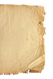 Piece of ancient paper Royalty Free Stock Photography
