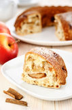 A piece of apple pie Royalty Free Stock Photography