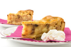Piece of apple-pie Royalty Free Stock Photos