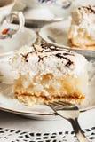 Piece of apple pie Stock Photography
