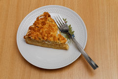 Piece of apple pie Stock Image