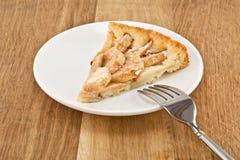 Piece of apple pie Royalty Free Stock Image