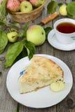 A piece of apple pie Stock Photos