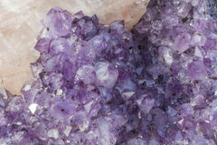 A piece of beautiful Amethyst Royalty Free Stock Photos