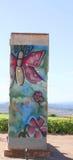 Piece of Berlin wall Stock Photo