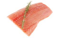 Piece of big salmon fillet Royalty Free Stock Photos