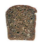 Piece of black bread. Stock Photo