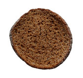 Piece of black bread. Royalty Free Stock Photo