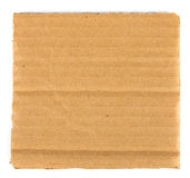 Piece of blank cardboard Royalty Free Stock Image