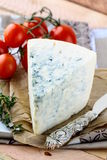 Piece of blue cheese Royalty Free Stock Photography