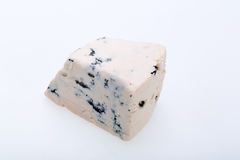 Piece of blue cheese Stock Image