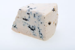 Piece of blue cheese Royalty Free Stock Photos