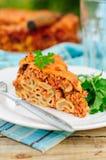 A Piece of Bolognese Pasta Bake Stock Photos