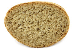 Piece of bread close-up Royalty Free Stock Photography