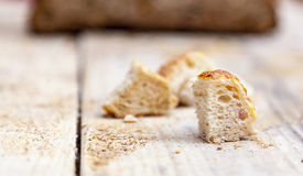 A Piece of Bread Royalty Free Stock Photos