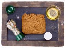 Piece of bread Stock Photos