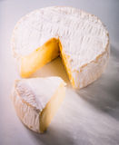 Piece of Brie Royalty Free Stock Photo