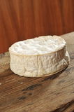 A piece of Brie / Camembert soft cheese Royalty Free Stock Images