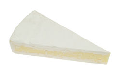 Piece of brie cheese Royalty Free Stock Photography