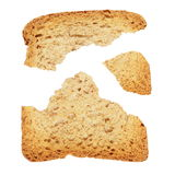 Piece of broken toast Royalty Free Stock Photo