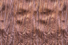 Piece of brown fabric Royalty Free Stock Images