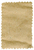 Piece of brown paper royalty free stock photography