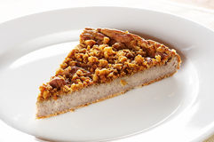 Piece of buckwheat cake Royalty Free Stock Photos
