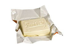 A piece of butter Royalty Free Stock Photo