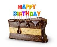 Piece cake Royalty Free Stock Image