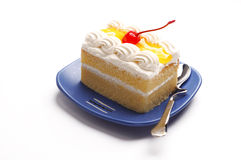 Piece of cake Royalty Free Stock Photography