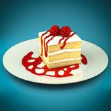 Piece of cake Royalty Free Stock Photos