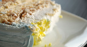 Piece of  cake,macro Royalty Free Stock Image