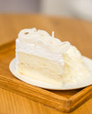 A piece of cake. In vintage mood Royalty Free Stock Photography