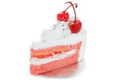 Piece of cake. On white background white Stock Photo