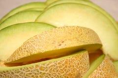 Piece cantaloupe Stock Images