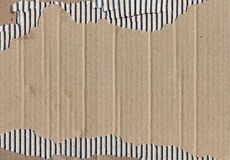 Piece of cardboard Royalty Free Stock Images