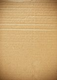 Piece of cardboard. Piece of corrugated cardboard as background royalty free stock photo