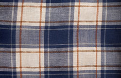 Piece of checked cloth Stock Photo