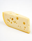 Piece of cheese. Royalty Free Stock Image
