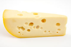 Piece of cheese. Royalty Free Stock Photography