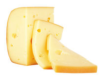 Piece of Cheese Stock Image
