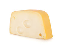 A piece of cheese Royalty Free Stock Photography