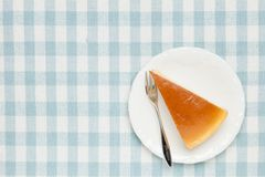 A piece of cheese cake. This is a photo of a piece of cheese cake Royalty Free Stock Photos
