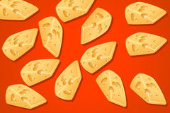 Piece cheese Stock Images
