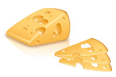 Piece cheese Stock Photos