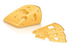 Piece cheese Stock Photos