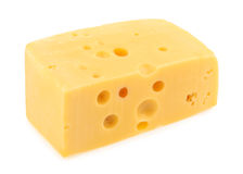 piece of cheese isolated. all images of this series see my portfolio royalty free stock photography